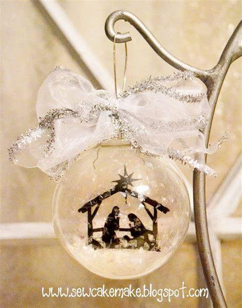 diy glass tree ornaments shelterness