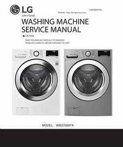 Lg Wm3700hra Wm3700hwa Wm3700hva Washer Service Manual