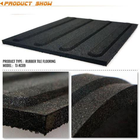 black outdoor rubber floor tiles walkway pavers china