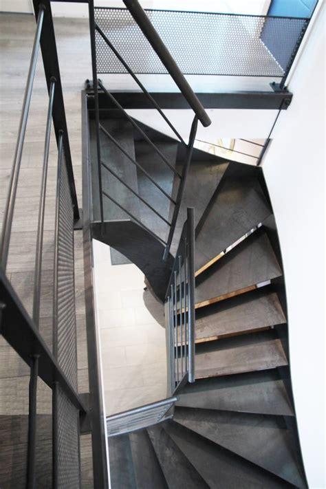 escaliers deux quart tournant steelm 233 tal