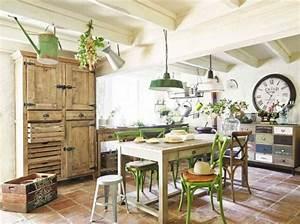 cuisine deco campagne maisons du monde decoration With les plus belles decoration de maison