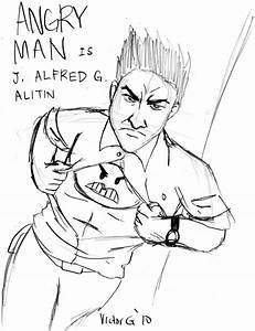 Angry Man Sketch by vicktuh85 on DeviantArt