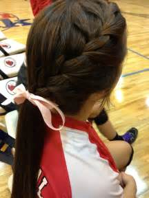 Cute Volleyball Hairstyles for Long Hair