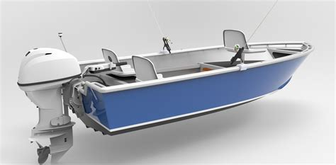 Sport Fishing Boat Kits by 14 Foot 4 3m Skiff Sport Fish Metal Boat Kits