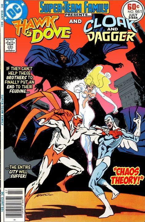 team family the lost issues hawk and dove and