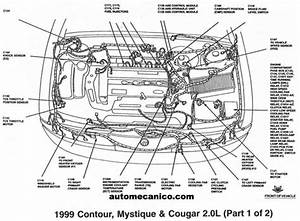 2002 Ford Focus Engine Compartment Diagram