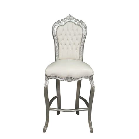chaise de bar pliable bar chair baroque style of louis xv baroque chairs