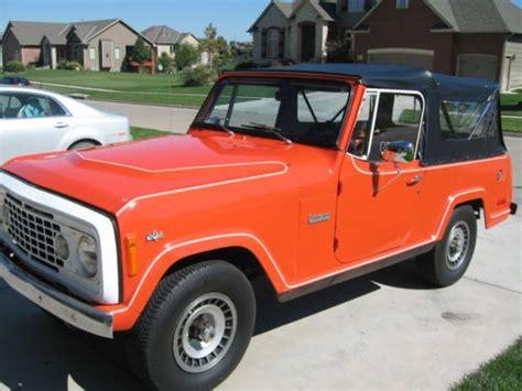 1973 jeep commando sell used 1973 jeep commando base 5 0l automatic 4x4 hard