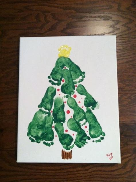 Baby's First Christmas Or A Fun Craft To Do With Kids