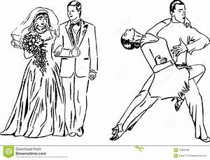 Wedding Couple Dancing Clipart (47+)