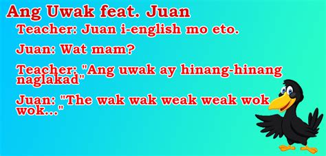 ang uwak ft juan tagalog joke tagalog jokes