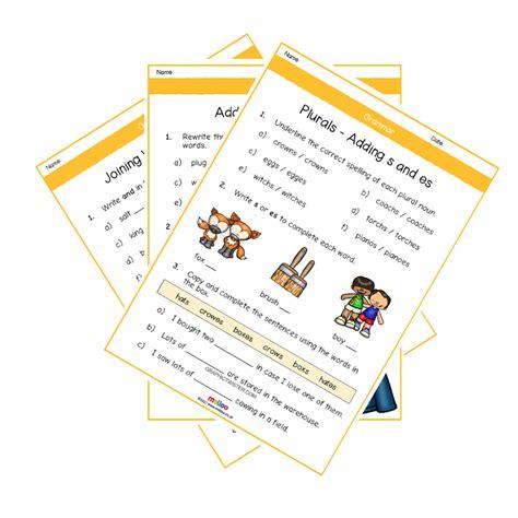 grammar y1 worksheets english ks1 melloo