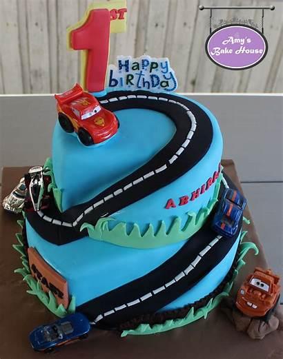 Wheels Birthday Disney Cake Themed Bake Amys