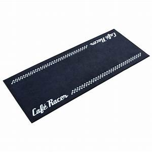 tapis moto cafe racer pour garage atelier paddock ou With tapis de garage moto