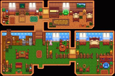 image result  stardew valley home layout jogos