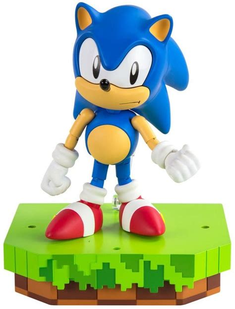 Sonic The Hedgehog Classic Sonic Collector 5.5 Figure TOMY ...