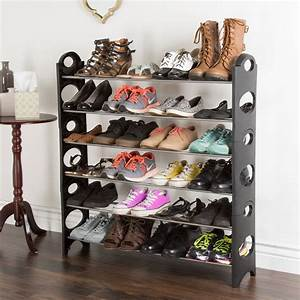 6-tier, Space, Saver, Shoe, Rack, By, Everyday, Home