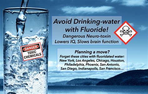 avoid  cities  fluoridated water janes healthy