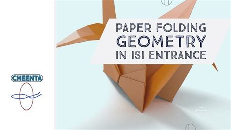 paper folding geometry  isi entrance cheenta
