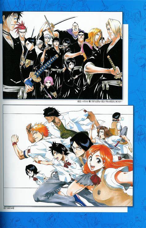 paint jump presents art  bleach anime books