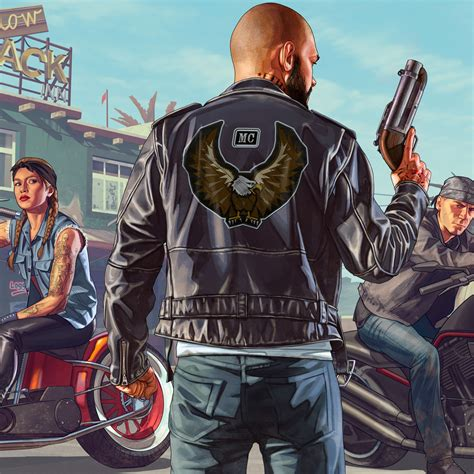 wallpaper biker dlc gta   hd  games