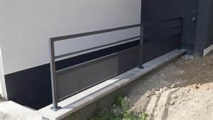 Garde Corps Exterieur : escaliers rampes garde corps ~ Melissatoandfro.com Idées de Décoration