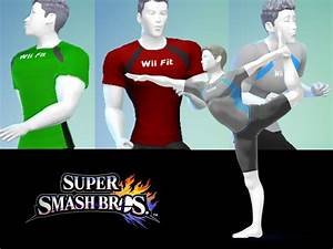 shunchain's Male Wii Fit Trainer T-Shirt