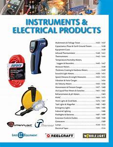 Instruments  U0026 Electrical Products P1430-1515 By Cmi Sales Inc