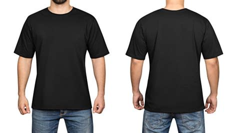 front and back template tshirt royalty free black t shirt pictures images and stock
