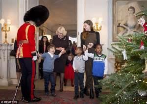 Duchess of Cornwall Camilla Parker Bowles lets kids ...