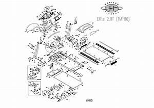 Horizon 2 0t Treadmill Parts