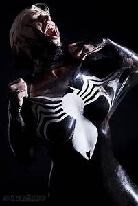 Freddie Nova's Sexy Venom Cosplay Is Too Hot For FaceBook ...