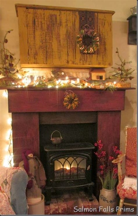 Primitive Decorating Ideas For Fireplace by Https Www Etsy Listing 174569879 Primitive Colonial