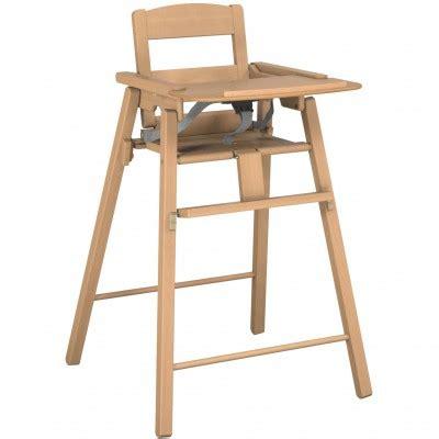 chaise haute bois pliante chaise haute en bois pliante bois naturel jurababy