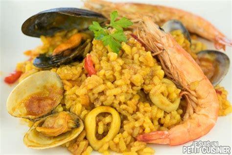 recette de pa 235 lla aux fruits de mer la vrai recette espagnole