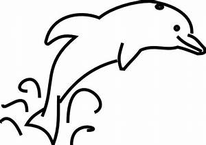Dolphin Clip Art Black And White Free | Clipart Panda ...