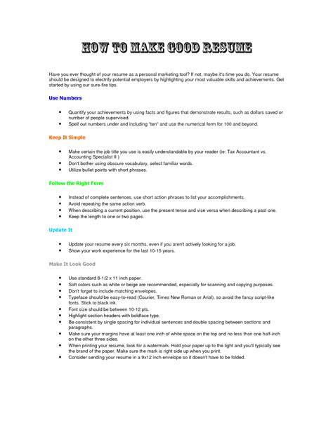 how to build a job resumes how to make a resume fotolip com rich image and wallpaper