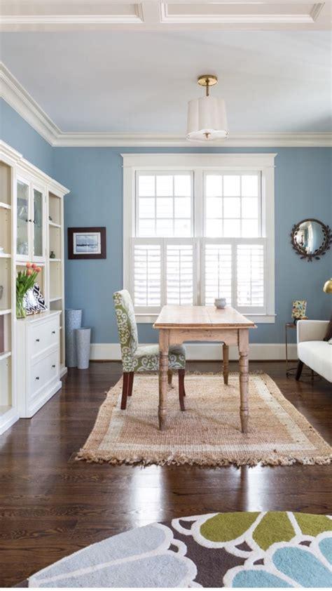 wall color santorini blue  benjamin moore room designed  liza holderhomegrown decor