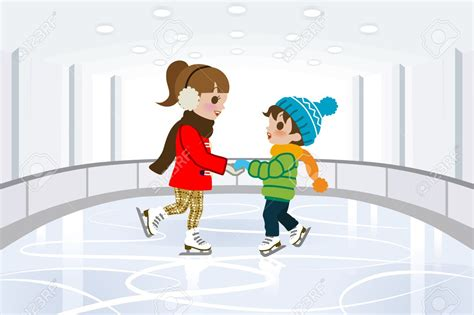 Skating Clip Rink Clipart Clipground