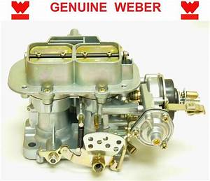 Genuine Weber 32  36 Dgv Progressive Carburetor Manual