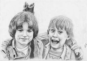 Portrait of Macaulay Culkin, Elijah Wood by maxwell on ...