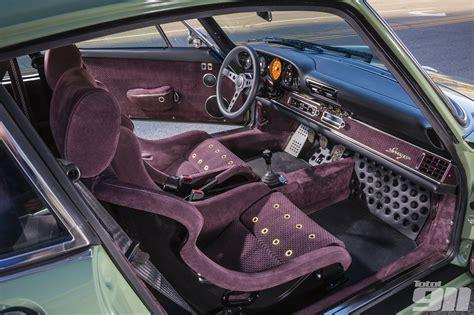 Custom Porsche Interior by Singer Porsche Search Restomod Interiors