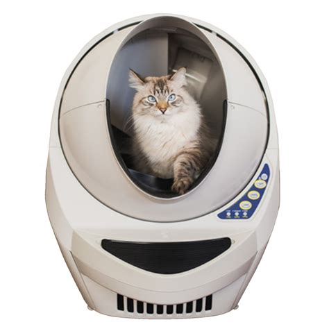 automatic self cleaning litter box litter iii open air automatic self cleaning litter