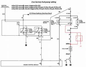 Fuel Pump Wire With High  Low Voltage Circuit - Page 9 - Evolutionm