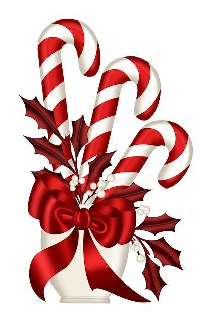Candy Cane Christmas Clipart Clip Canes Cross