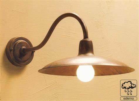 applique led esterno era applique da esterno in ottone naturale o verniciato di