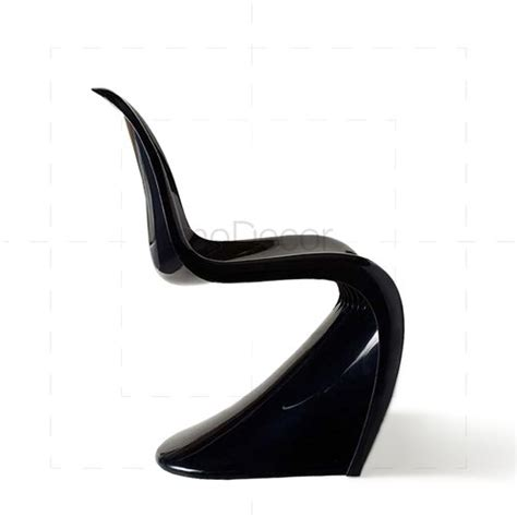 verner panton stuhl verner panton stuhl in schwarz modecor hochwertige