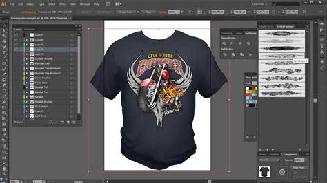 illustrator brushes high  tshirt design tutorial youtube