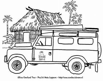 Rover Land Coloring Range Colouring Pages Series