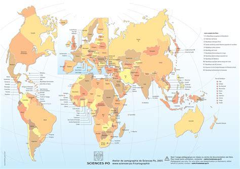 Carte Du Monde Avec Nom Des Pays En Anglais by La Carte N Est Pas Le Territoire Par Aurbar
